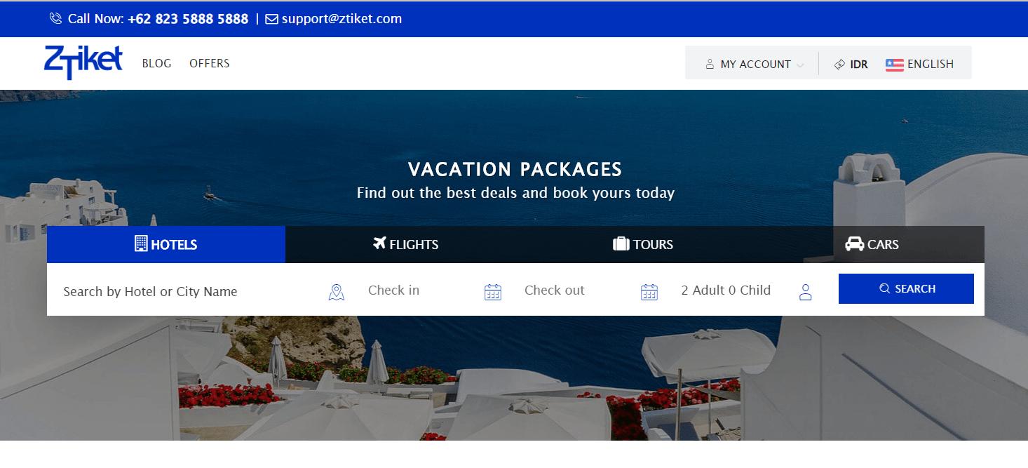 Jasa Pembuatan Website Tour Travel API Sabre dan Amadeus